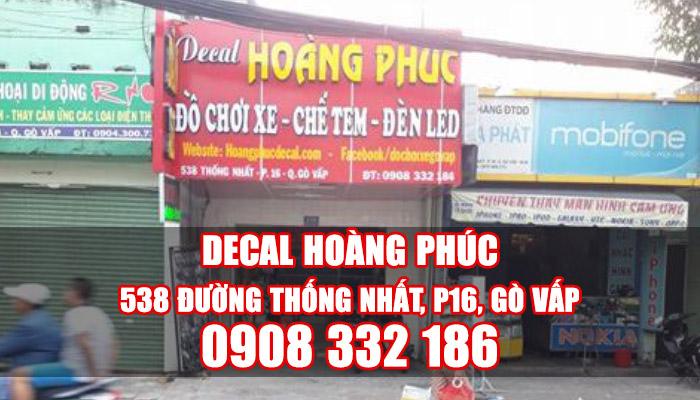 Hinh anh cua hang dan keo xe Hoang Phuc Go Vap