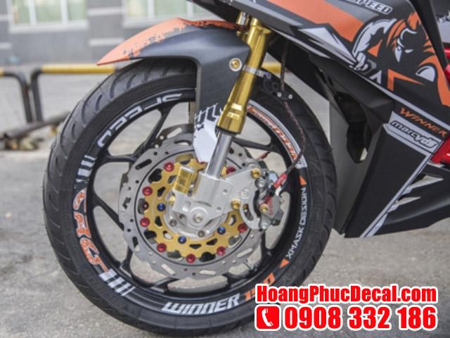 Cửa hàng bán đồ chơi xe máy mới nhất 2017 TPHCM - Phuộc xe máy