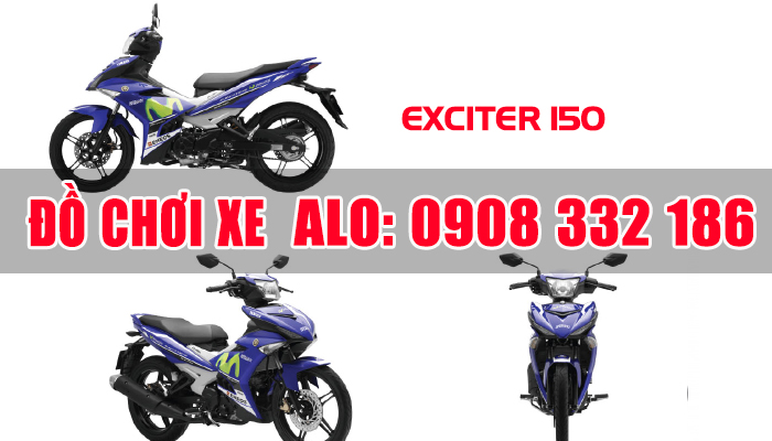 Do choi xe may exciter 150 tphcm Hoang Phuc